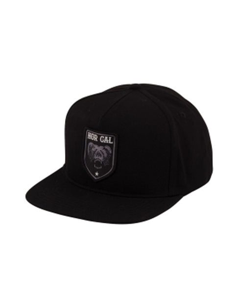 "Nor Cal - Snapback Adjustable ""Alameda"" Black (2045269999675)"