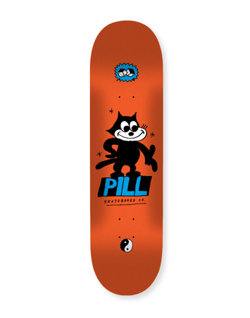 Pill – Lucky Cat 8'125 + lija Iron Pro