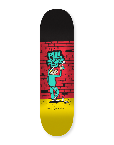 Pill – Spray Paint 8'0 + lija Iron Pro