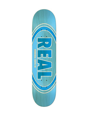 Real – Oval Duo Fade Blue 8.5 + Lija iron
