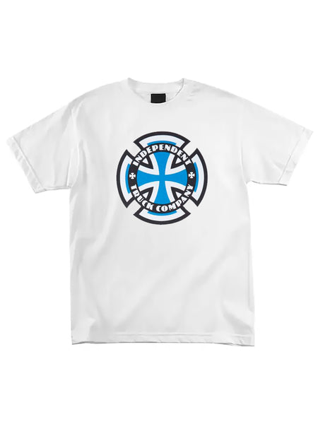 Independent - Polera Ringed Cross White
