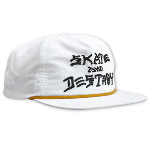 "Thrasher - Gorro Snapback ""Snapback SAD Puff Ink"" White (2036841513019)"