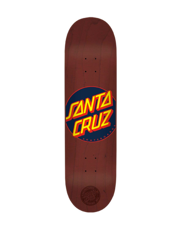 Santa Cruz - Classic Dot Burgandy 8'375 + lija iron