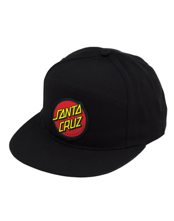 Santa Cruz - DOT black snapback