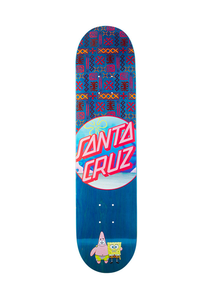 Santa Cruz - Tabla SpongeBob Best Buds 7.75 x 31.4 + lija iron