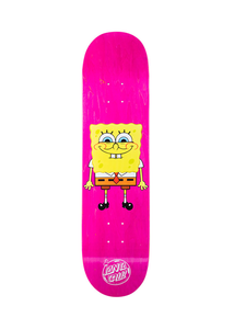 Santa Cruz - Tabla SpongeBob SquarePants 8.0 x 31.7 + lija iron