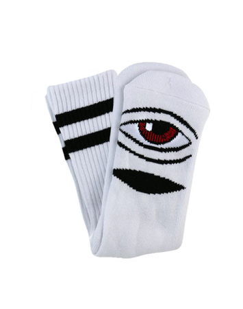 "Toy Machine - Calcetines ""Sect Eye"" White"