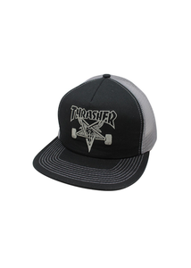 Thrasher - Gorro Trucker Skate Goat Black/Grey