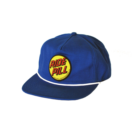 "Pill - Gorro Snapback ""Ride Pill"" Sailor Blue/Yellow"