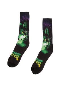 Creature - Calcetines Spirit Shroud Mini Crew Black OS