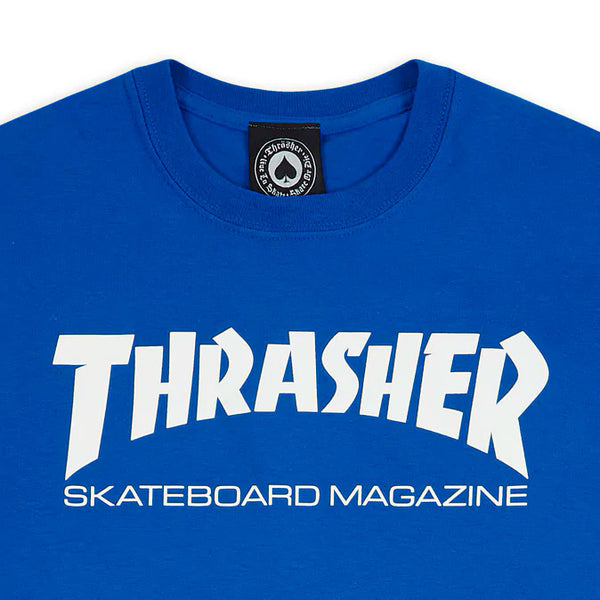 Thrasher - Polera Skate Mag Royal Blue