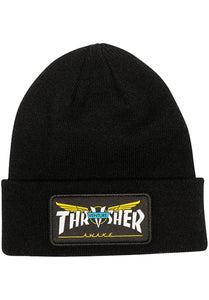 Thrasher - Gorro Beanie Patch Venture Collab Black