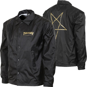 "Thrasher - Jacket ""Pentagram"" Black"