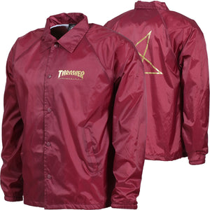 "Thrasher - Jacket ""Pentagram"" Maroon"