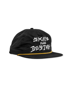 "Thrasher - Gorro Snapback ""SAD Puff Ink"" Black (1668502159419)"