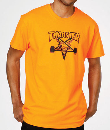 "Thrasher - Polera ""Skate Goat"" Orange"
