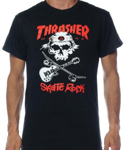 "Thrasher - Polera ""Skate Rock"" Black (1820130902075)"
