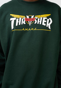 Thrasher - Polerón Polo Venture Collab Forest Green