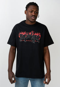 Thrasher - Polera Crows Black