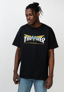 Thrasher - Polera Venture Collab Black