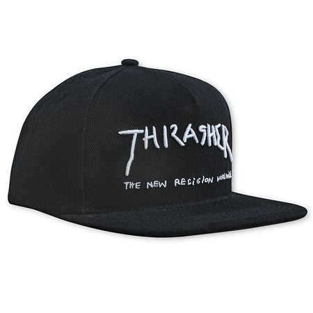 "Thrasher - Gorro Snapback ""New Religion"" Black"