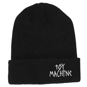 Toy Machine – Gorro Beanie Tape Logo Black BENTM0022