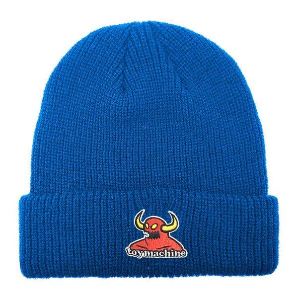 Toy Machine – Gorro Beanie Monster Blue BENTM0024