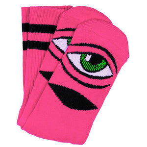 Toy Machine - Calcetines Eye Sect Neon Pink SOCTM0043