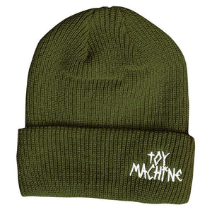 Toy Machine – Gorro Beanie Tape Logo Army BENTM0022