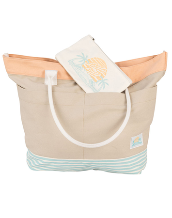 Santa Cruz - Tote Bag Khaki w/Stripe