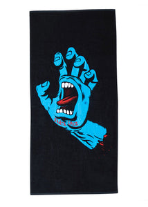 Santa Cruz - Toalla Screaming Hand Black