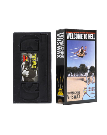 "Toy Machine - wax VHS ""Welcome to Hell"""