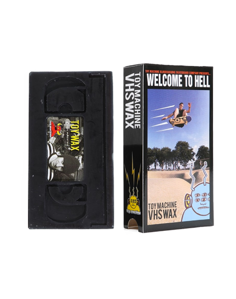 Toy Machine - VHS Welcome to Hell wax