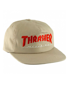 "Thrasher - Gorro Snapback ""Two Tone Tan"" (1489357799483)"