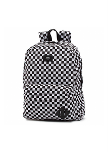 Vans - Mochila Old Skool BLACK-WHITE CHECK