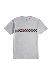 Vans - Polera x Independent CHECKERBOARD GREY
