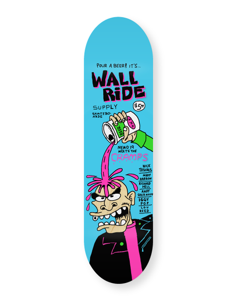 Wallride - Punk Mag 8'125 + Lija Iron
