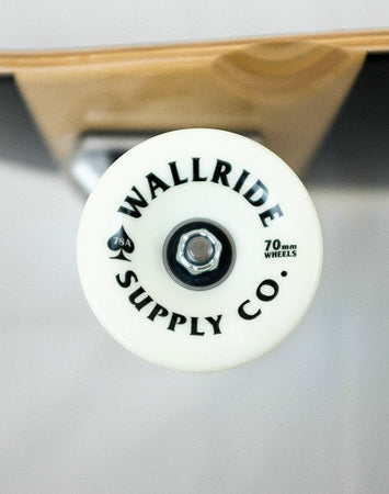 Wallride - Ace of Spades Red Longboard