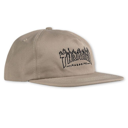 "Thrasher - Gorro Snapback ""WITCH"" Tan"