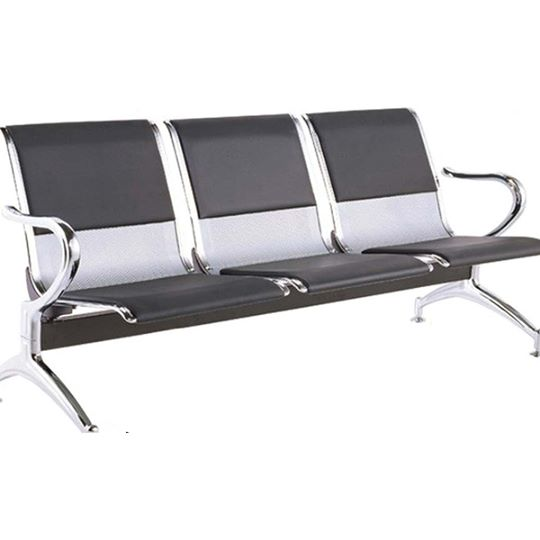 Tendum 3 Letherette Airport Sofa Chairs - makemychairs