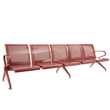 Metro 5 Seater Airport Sofa Chairs - makemychairs