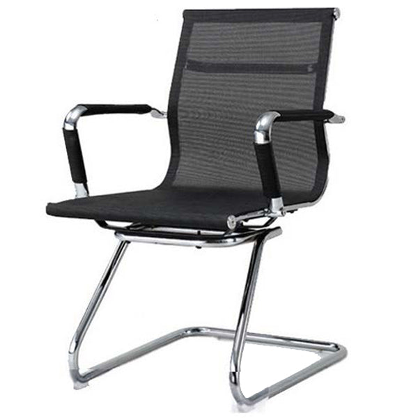 Sleek Netted Visitor Chair Chairs - makemychairs