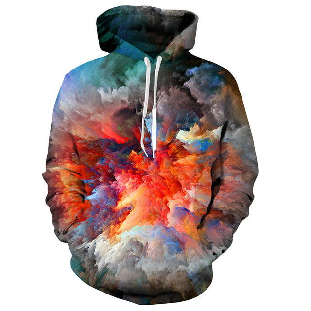 3D Printed Hoodie Mind Blown - From Moon Landers