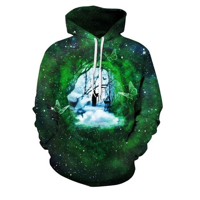 3D Printed Hoodie Road of Life - From Moon Landers