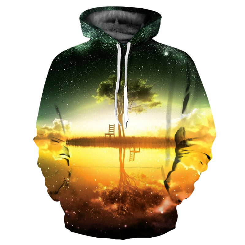3D Printed Hoodie Morning Birch - From Moon Landers