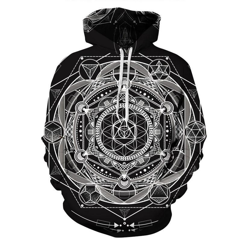 3D Printed Hoodie Ancient Ritual - From Moon Landers