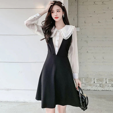 High-Waist Split Wide-Leg Flared Pants