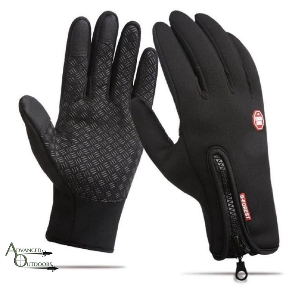 All-Weather Touchscreen Gloves - Black / S