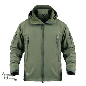 Big Game Hunting Jacket - Green / S