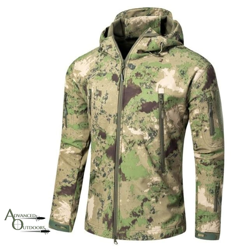 Big Game Hunting Jacket - Green Splatter / S